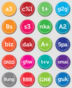 Txt Spk Badges